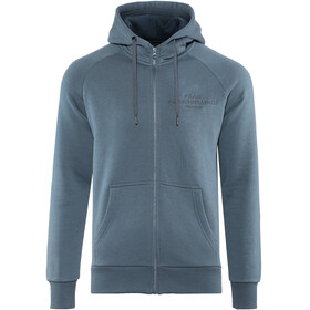 Peak Performance Original Zip Hood Men Blue Steel